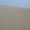 101 - <br /> Day 3 - <br /> Tracks up to our dune-top eclipse viewing campsite! <br /> (Page 7-Image 11)