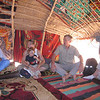 "269 - <br /> Day 8 - <br /> Lunch in the ""Tent of Flies"" - Penny, Sue & Will, & Tom <br /> (Page 18-Image 14)"