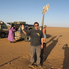 409 - <br /> Day 11 - <br /> At the Algerian border just before sunset <br /> (Page 28-Image 4)