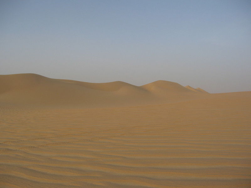 184 - <br /> Day 5 - <br /> More perfect dunes at our campsite, can it get any better than this? <br /> (Page 13-Image 4)