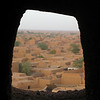 258 - <br /> Day 7 - <br /> View of the town from a window in the mosque tower <br /> (Page 18-Image 3)
