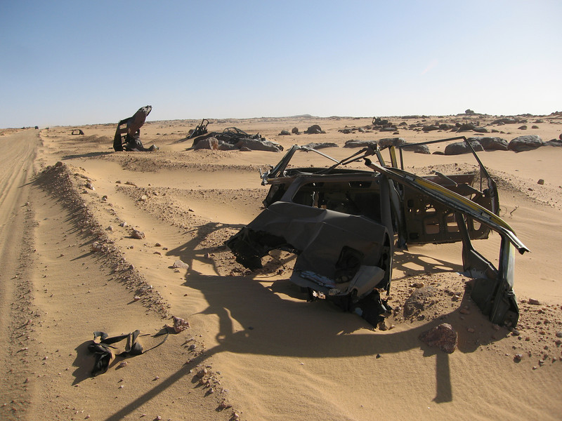 433 - <br /> Day 12 - <br /> The Algerian auto graveyard  <br /> (Page 29-Image 13)
