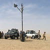 193 - <br /> Day 6 - <br /> THIS is the Tree of Tenere; Now a memorial; once this was the site of the only tree between Fachi & Agadez; until a Libyan truck driver ran into it in 1973 <br /> (Page 13-Image 13)