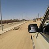 425 - <br /> Day 12 -<br /> Real PAVED roads at the Algerian border town! <br /> (Page 29-Image 5)