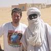 423 - <br /> Day 12 - <br /> Flip & our Nigerienne veteran salt caravan guide <br /> (Page 29-Image 3)