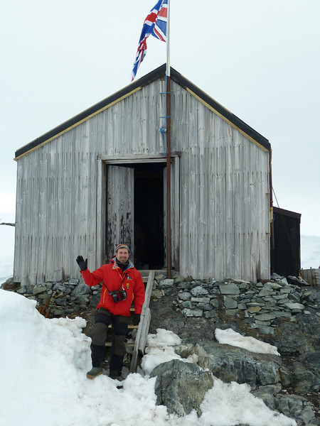Visit to the UK's base W on Detaille Island, Antarctic peninsula