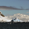 Mountainous iceberg in Neko Harbour, Mainland Antarctic Peninsula
