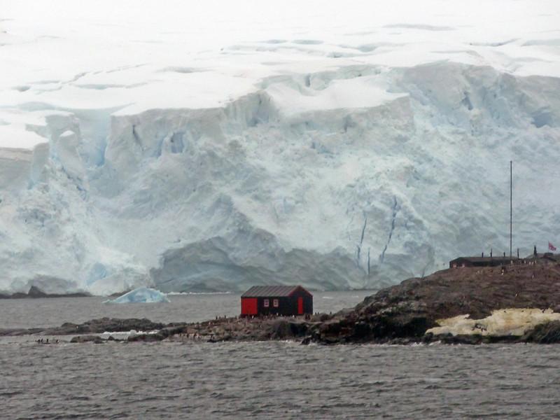 Port Lockroy British station, Wiencke Island, Antarctic peninsula