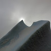 Partial solar eclipse in the Crystal Sound, Antarctic peninsula