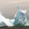 Monumental ice form at Detaille Island, Antarctic peninsula