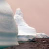 "Massive icebergs in the ""Icebergs Graveyard"" in the Penola Strait near Booth Island, Antarctic peninsula"
