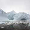 Massive icebergs in the Crystal Sound, Antarctic peninsula