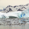 "Glaciers and ""bergy-bits"" in the Crystal Sound, Antarctic peninsula"