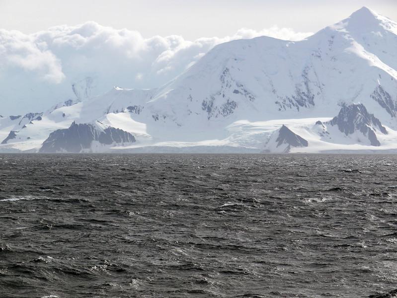 At sea crusing towards Elephant Island, South Shetland Islands, Antarctica