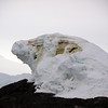 50 times life size leopard seal ice sculpture near Detaille Island, Antarctic peninsula