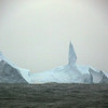 Picturesque iceberg near Elephant Island, South Shetland Islands, Antarctica