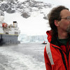 David Matthews, naturalist and zodiac driver in the Crystal Sound, Antarctic peninsula
