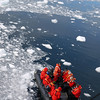 Getting ready for zodiac cruising in Neko Harbour, Mainland Antarctic Peninsula