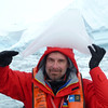 Flip finds Napoleon's hat in the ice of Crystal Sound, Antarctic peninsula