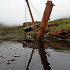 Abandoned whaling ship in Prince Olav Harbour, South Georgia