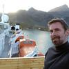 On deck, leaving Grytviken, South Georgia