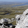 View from the top of Mount Tumbledown, Falkland Islands