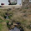 Shipwreck on New Island, Falkland Islands