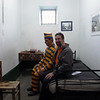 """""""Roommate"""" at the Prison Museum in Ushuaia, Argentina"""