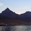 Early morning in the harbour in Ushuaia, Argentina