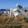 Mysterious missing clothes on Carcass Island, Falkland Islands
