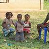Les enfants Gabonaise