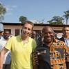 "Me & my ""Best Bud:"" Ali Bongo Ondimba, <br /> The President of Gabon, at the Total Solar <br /> Eclipse of 3 November <br /> 2013 in Benguie 4 Village, <br /> Rural Gabon, Equatorial <br /> West Africa."