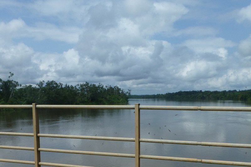 Mighty rivers in rural GAbon.