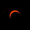 The partial eclipse at 85%!