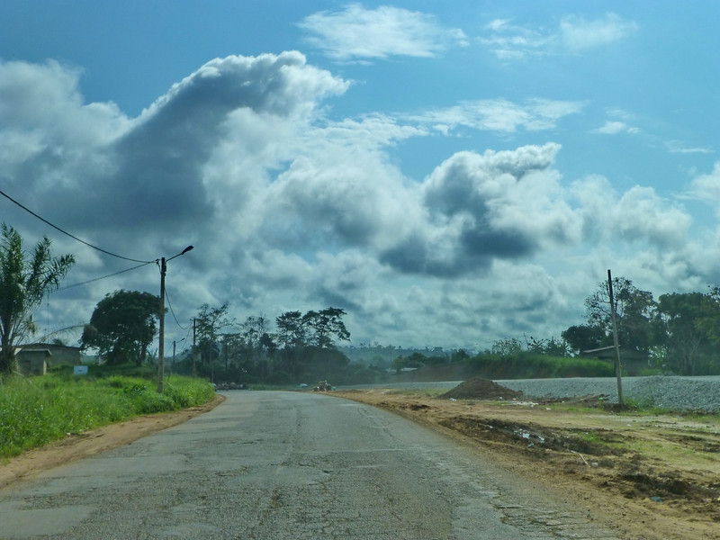The road ahead looks very stormy, not good weather for viewing the eclipse!