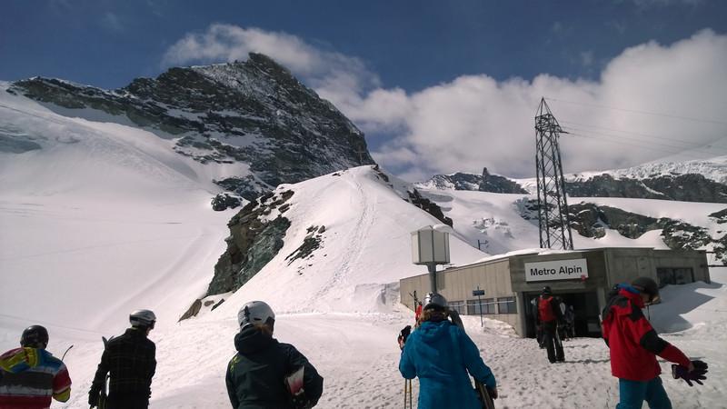 The Metro-Alpine – Subway train to the summit – Swiss class!