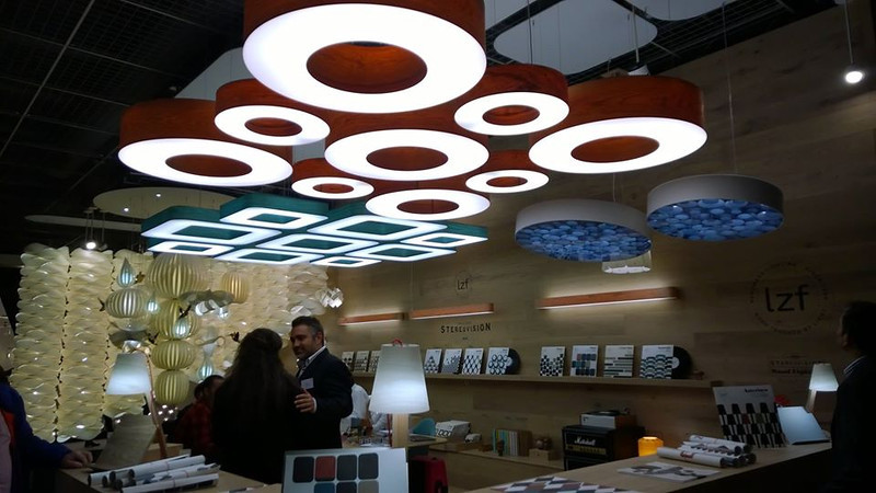 Frankfurt lighting fair – it's all about DONUTS – they're everywhere!