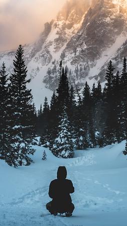Frankieboy Photography    Conquering Winter Hike   Travel Photography Exploring Colorado