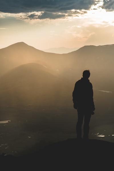 Gold Silhouette | Travel Photography Exploring Colorado