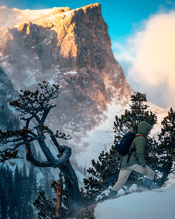 Frankieboy Photography |  Hiking In Snow | Travel Photography Exploring Colorado