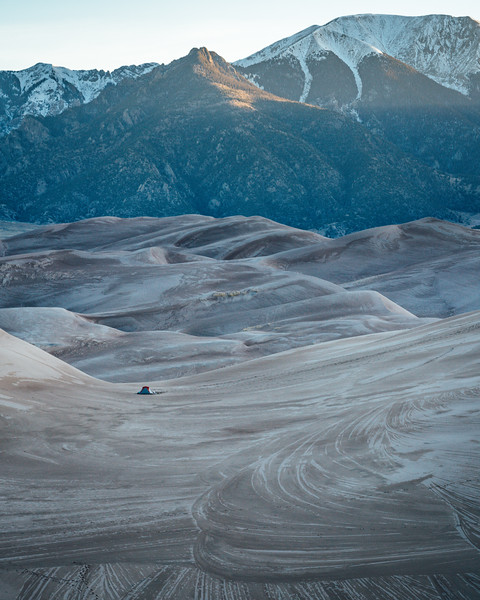 Sand And Mountains | Travel Photography Explore Colorado