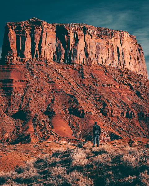 Stone Castle | Travel Photography Explore Utah