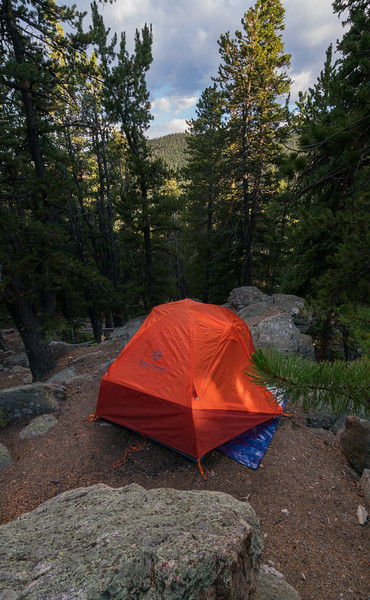 Frankieboy Photography |  Mountain Side Camp Site | Travel Photography Exploring Colorado