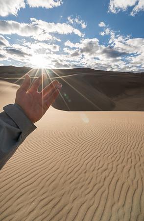 Great Sand Dunes Exploring