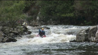Splash Rafting River Bugging on the RiverTummel Scotland. Visit us at   http://www.rafting.co.uk or give us a call on 01887 829706 to join us in having fun and adventure.