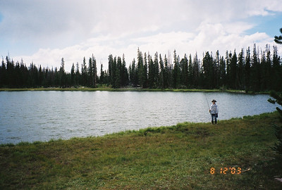 Backpacking Trip to Black & Lightning Lakes in hte High Uinta Mountains - - Preston's First backpacking trip  Aug 12-17th 2003