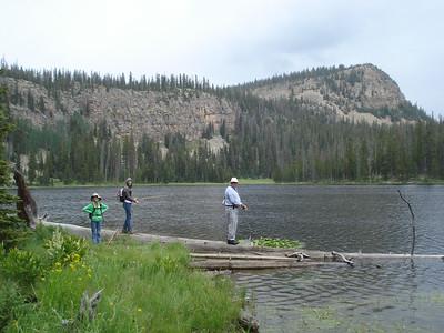 A day with Grandpa at Echo Lake