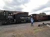 At the railyard in Chama, NM