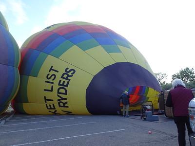 2018-08-25 Ballooning, Sandia Peak