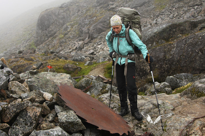 August 2011. Chilkoot Trail. Day 3 - Sheep Camp to Happy Camp.